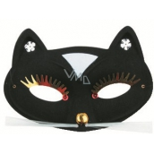 Cat cat black 17 cm