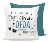 Nekupto Gift Center Pillow with dedication Crack grandpa 30 x 30 cm
