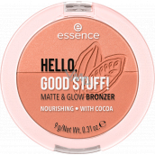 Essence Hello, good stuff! Matte & Glow bronzer 20 Cocoa-kissed 9 g