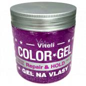 Vitali Color Repair & Hold Aloe Vera style firming hair gel 390 ml