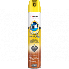 Pronto Amazing Shine Polish anti-dust spray, wood polish 400 ml