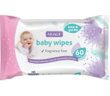 Nuagé Baby baby wet wipes 60 pieces