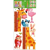Room Decor Wall stickers tree animals in zoo giraffe 70 x 33 cm 1 arch