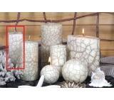 Lima Nevada svíčka slonová kost hranol 45 x 120 mm 1 kus