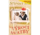Nekupto Scratch card for wedding Wedding anniversary G 21 3351 21,5 x 13,5 cm