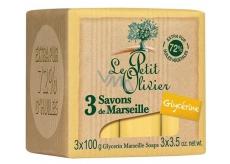 Le Petit Olivier Mairseil soap 3x100g Glycerin