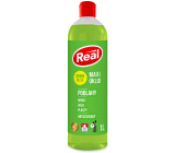 Real Maxi Floor Cleaning universal antistatic cleaner with aroma oils on stainless steel, glass, plastics 1 l