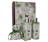 Bohemia Gifts & Cosmetics Botanica Hemp oil shower gel 200 ml + hair shampoo 200 ml + hand made toilet soap 100 g.