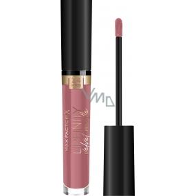 Max Factor Lipfinity Velvet Matte Lipstick Liquid Matte Lipstick 020 Coco Creme 4 ml