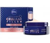 Nivea Hyaluron Cellular Filler remodeling night cream activates the skin cells 50 ml