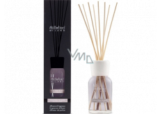 Millefiori Milano Natural Cocoa Blanc & Woods - White cocoa and wood Diffuser 250 ml + 8 stalks 30 cm long for medium-sized spaces lasts at least 3 months