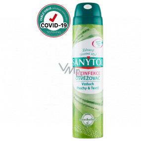 Sanytol Menthol cleans the air and disinfects all surfaces and textiles 300 ml