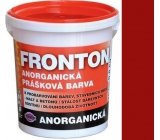 Fronton Inorganic powder paint Red for outdoor and indoor use 800 g