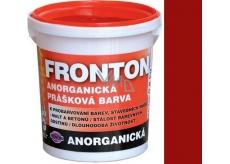 Fronton Anorganická prášková barva Červená pro venkovní a vnitřní použití 800 g