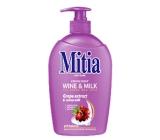 Mitia Wine & Milk tekuté mýdlo dávkovač 500 ml