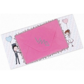 Albi Chocolate with a pocket for money Wedding Humorous 15.4 cm × 7.3 cm × 1 cm 85 g
