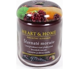 Heart & Home Juicy mulberries Soy scented candle medium burns up to 30 hours 110 g