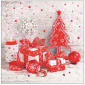 Aha Christmas paper napkins, three-ply 33 x 33 cm, 20 pcs