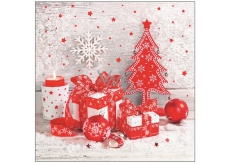 Aha Christmas paper napkins, three-ply 33 x 33 cm, 20 pcs