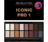 Makeup Revolution Iconic Pro 1 Palette eye shadow palette 16 g