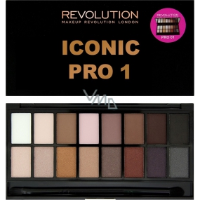 Makeup Revolution Iconic Pro 1 eye shadow palette 16 g