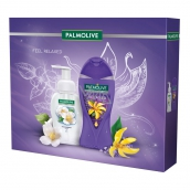 Palmolive So Relaxed shower gel for women 250 ml + Magic Softness Jasmine mousse soap 250 ml, cosmetic set