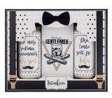 Bohemia Gifts For Dad - Gentleman shower gel 100 ml + shampoo 100 ml + bath salt 110 g, cosmetic set