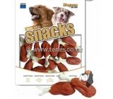 Magnum Duck leg on crispy calcium cube soft, natural meat delicacy for dogs 250 g