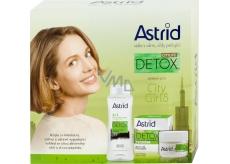 Astrid Citylife Detox Moisturizing Brightening Day Cream 50 ml + 3in1 micellar water 400 ml, cosmetic set