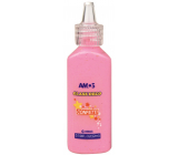 Amos Colors for glass with confetti 2. Pink 22 ml