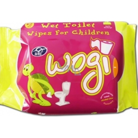 Uni Wogi moistened toilet paper 60 pieces refill
