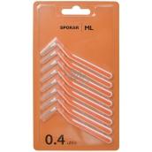 Spokar Ultra L velikost 0,4 mm mezizubní kartáčky, sada 8 ks