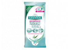 Sanytol Disinfectant cleaning wipes disposable eucalyptus 36 pieces