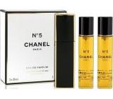Chanel No.5 perfume water set for women 3 x 20 ml