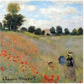 Le Blanc Les Coquelicots - Red Fruit Claude Monet Scented Sachet 11 x 11 cm 8 g