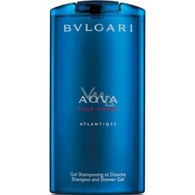 Bvlgari Aqva pour Homme Atlantiqve 2 in 1 shower gel and shampoo 200 ml