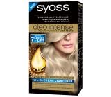 Syoss Oleo Intense Color barva na vlasy bez amoniaku 12-00 Stříbřitě blond
