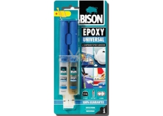 Bison Epoxy Universal high-strength two-component epoxy adhesive with a workability of 90 minutes 24 ml