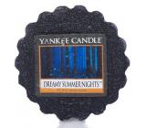 Yankee Candle Dreamy Summer Night - Dreamy Summer fragrance aromatic wax 22 g