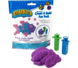 Mad Mattr Kinetic Sand Modeling Create and build purple 57 g