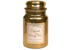 Village Candle Tea with Honey and Spices - Spiced Honey Tea scented candle in glass 2 wicks 26oz burning time 170 hours 602 g