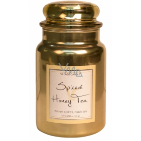 Village Candle Spiced Honey Tea Scented candle in glass 2 wicks 602 g