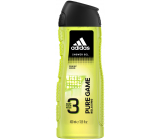 Adidas Pure Game 3in1 shower gel for body, face and hair for men 400 ml