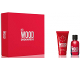 Dsquared2 Red Wood eau de toilette for women 30 ml + body lotion 50 ml, gift set