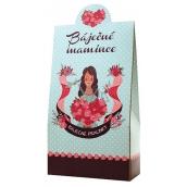 Bohemia Gifts & Cosmetics Milk and dark chocolate pralines with cream filling and Irish whiskey Wonderful mom 100 g