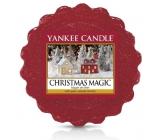 Yankee Candle Christmas Magic - Vánoční kouzlo vonný vosk do aromalampy 22 g