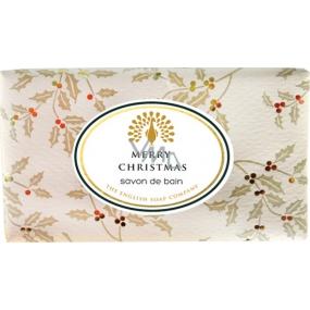 English Soap Vintage Merry Christmas Přírodní parfémované mýdlo s bambuckým máslem 200 g