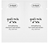 Ziaja Goat milk shampoo + mask for hair sachet 2x7ml 5551
