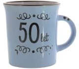 Albi Ceramic mug with the inscription 50 years 320 ml