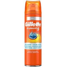 Gillette Fusion 5 Ultra Sensitive Moisturizing shaving gel 200 ml